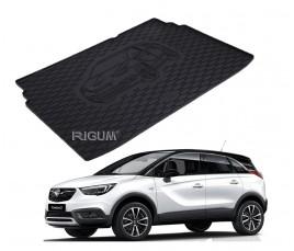 Gumová vaňa do kufra Rigum - Opel Crossland X 2017 - Horná i dolná podlaha