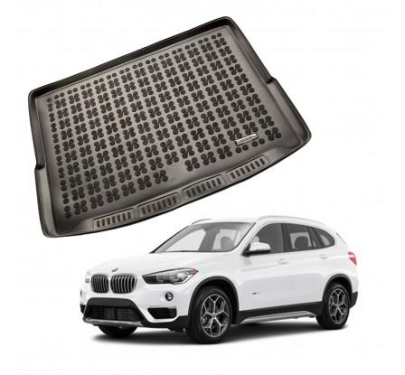 Vanička do kufra gumová BMW X1 F48 (posuvná zadná lavica) 2015-